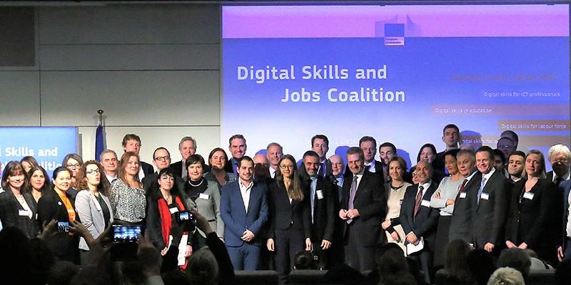 Συμμετοχή της HePIS στον Συνασπισμό για τις ψηφιακές δεξιότητες και τις ψηφιακές θέσεις εργασίας